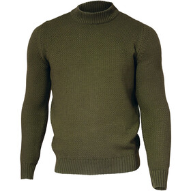 Ivanhoe of Sweden GOTS Ash Crewneck Pullover Heren, forest green